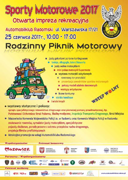 Rodzinny Piknik Motorowy 25.06.2017