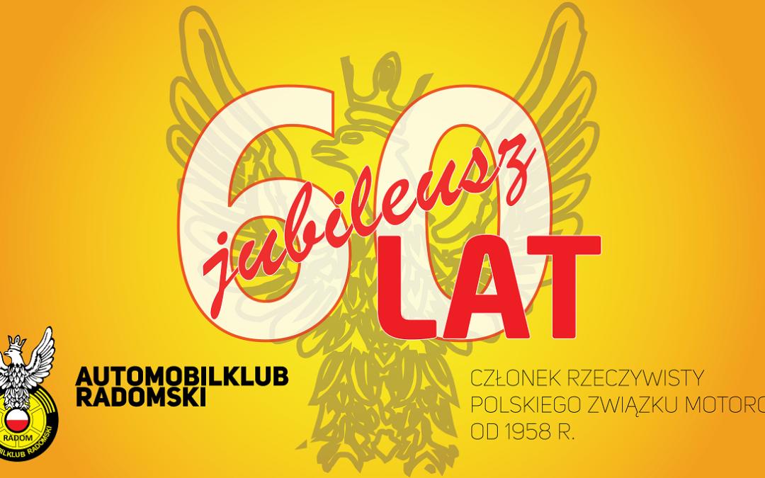 Jubileusz 60-lecia Automobilklubu Radomskiego