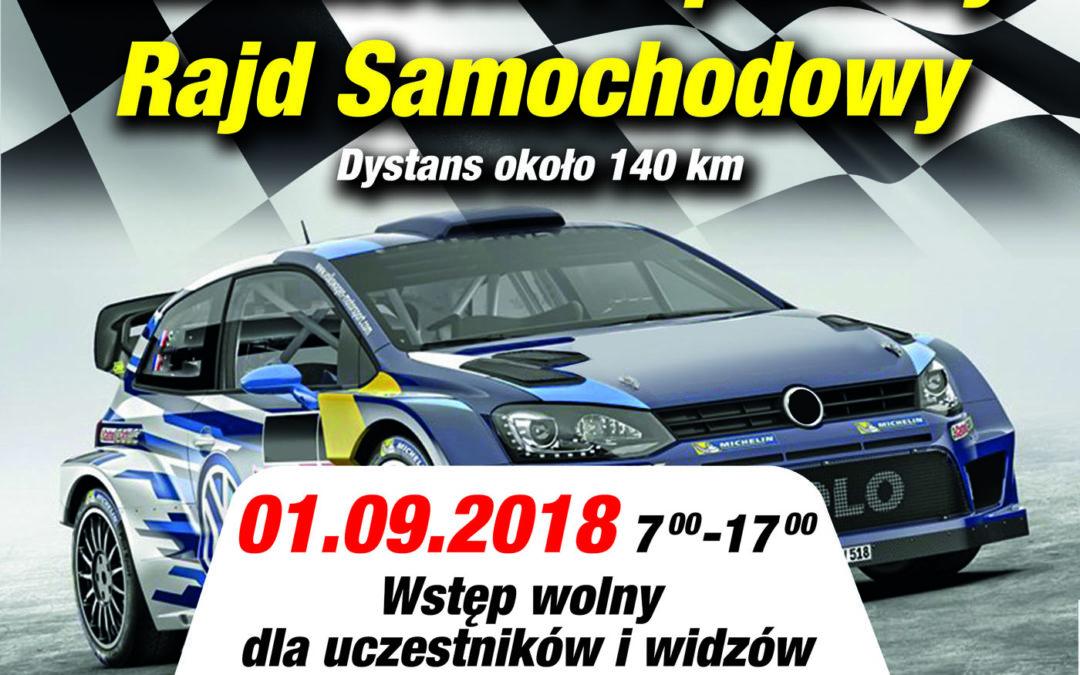 Mazowiecki Popularny Rajd Samochodowy – 01.09.2018
