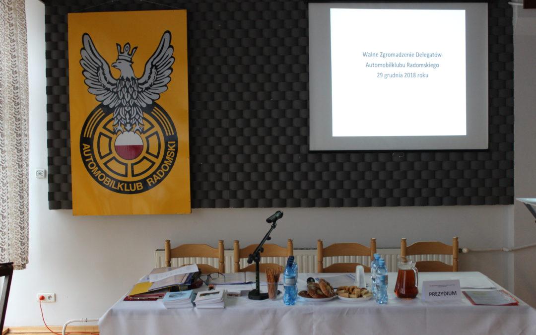 Walne Zgromadzenie Delegatów Automobilklubu Radomskiego