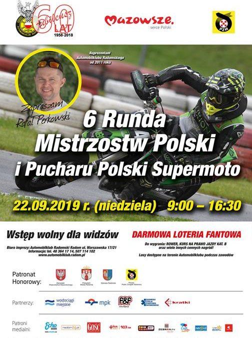 6 Runda Mistrzostw Polski i Pucharu Polski Supermoto – trening wolny 21.09.2019
