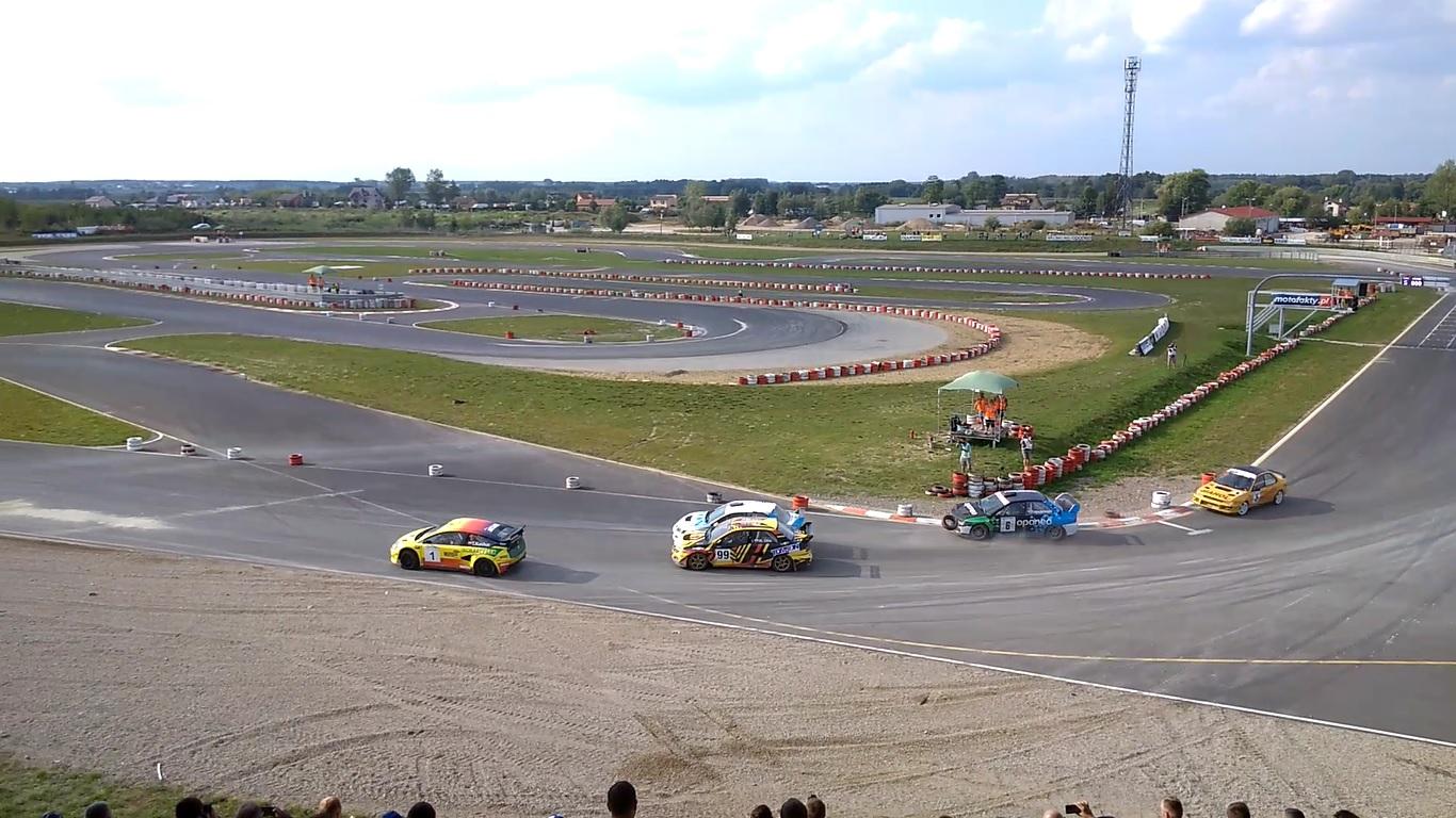 V runda Oponeo Mistrzostwa Polski w Rallycrossie 26-27.08.2017